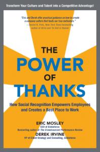 Livro - O poder do agradecimento - capa