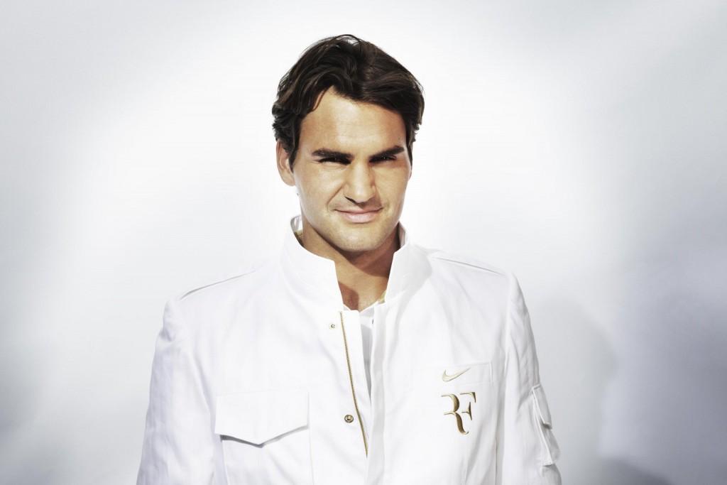 Roger Federer, um esportista que serve de exemplo para todos, não apenas os que se dedicam ao tênis.