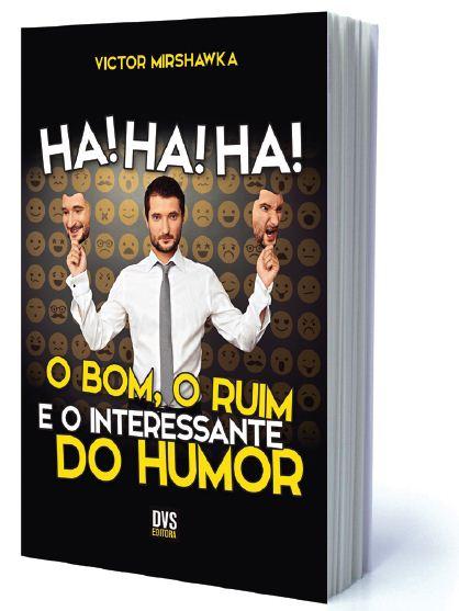 Livro Ha Ha Ha - o bom o ruim e o interessante do humor