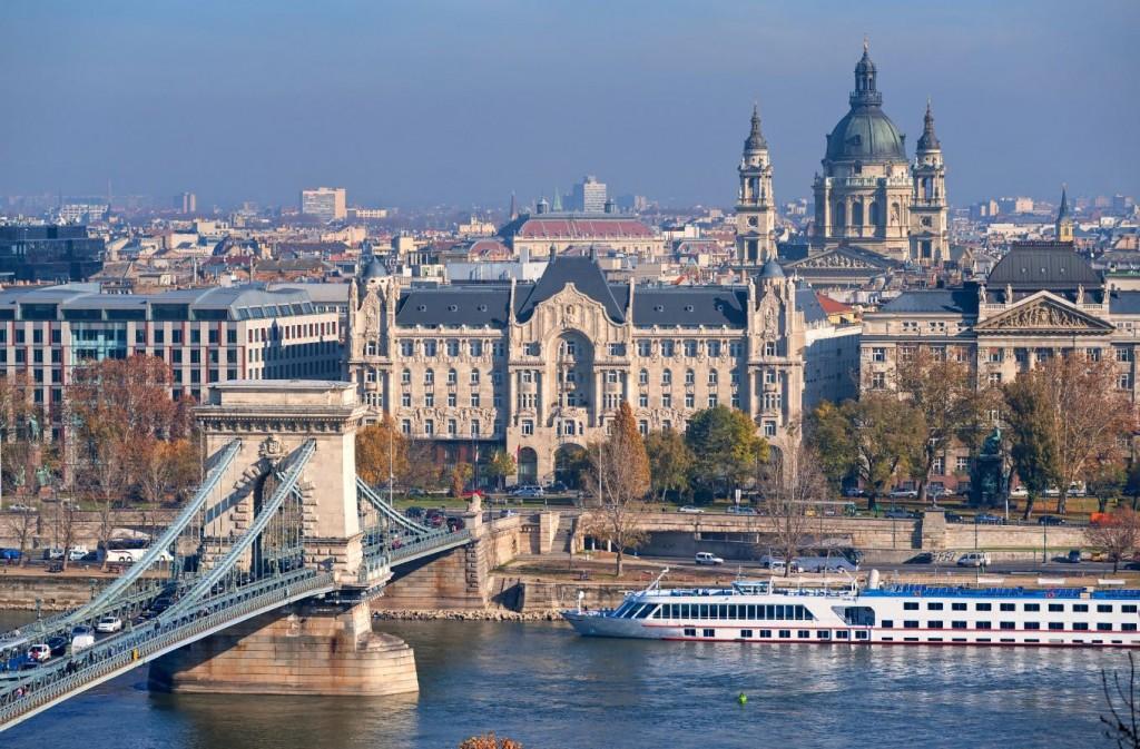 A bela capital húngara, Budapeste.