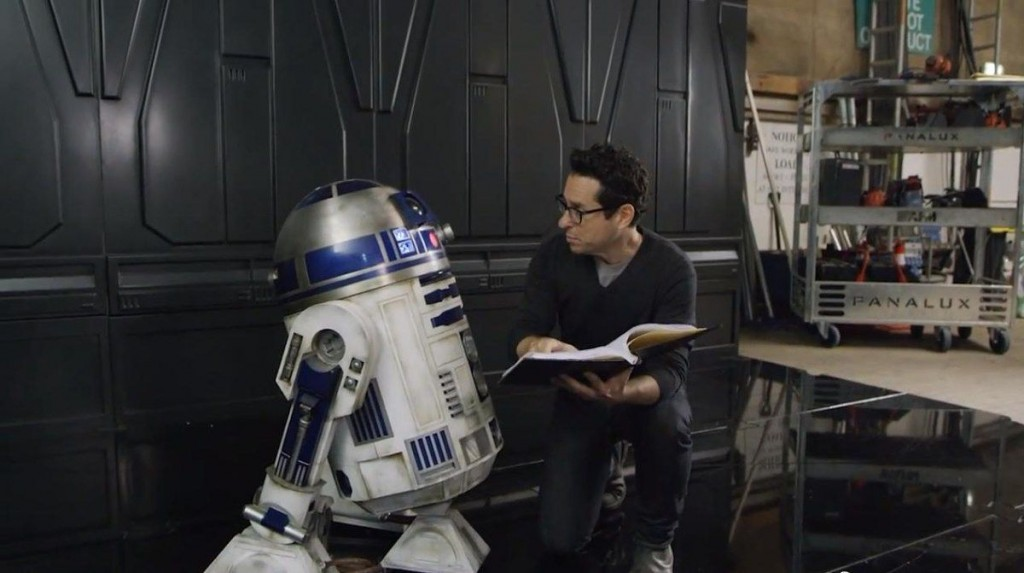 O diretor do novo filme Star Wars, J.J. Abrams.