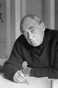 O arquiteto finlandês Alvar Aalto.