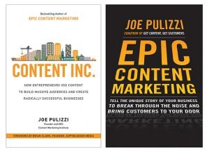 Dois livros incríveis e de leitura obrigatória para quem deseja elaborar um marketing de conteúdo.
