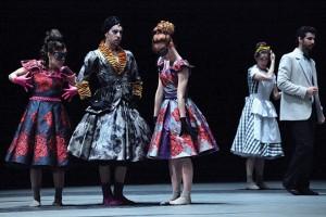 Balé no teatro Guaíra, abrindo o Festival de Teatro de Curitiba em 24/3/2016.