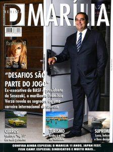 A incrível revista D Marília, que os marilienses apreciam há mais de 11 anos.