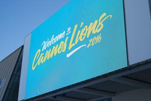 A mensagem para os participantes do Cannes Lions.