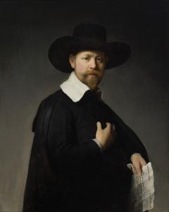 A arte obtida com o auxílio de um scanner especial... O que você acha dessa tela: foi Rembrandt que pintou ou não?