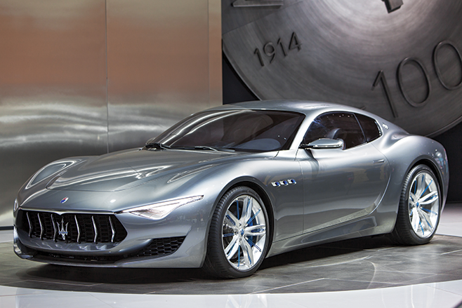 A Maserati Alfieri, que produz suspiros nos amantes de carros esportivos...