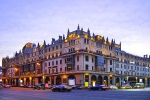 O secular hotel Metropol de Moscou.