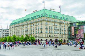 O tradicional Addlon Kempinski de Berlim.